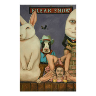 Freak Show Stationery