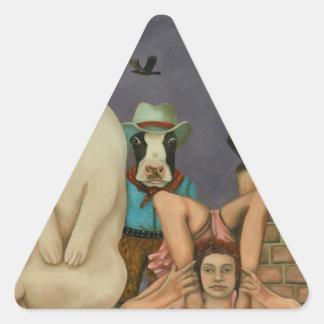 Freak Show Triangle Sticker