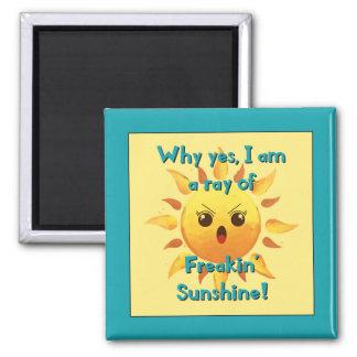 Freakin Sunshine Magnet