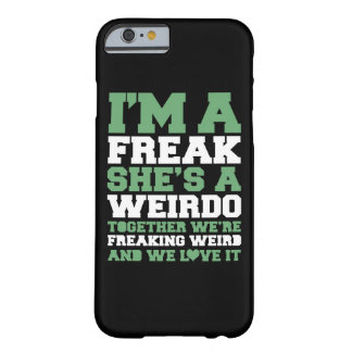 Freakin Weird Best Friends Barely There iPhone 6 Case
