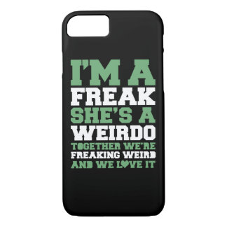 Freakin Weird Best Friends iPhone 8/7 Case