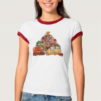 Freaky Junk Food Pyramid T-Shirt