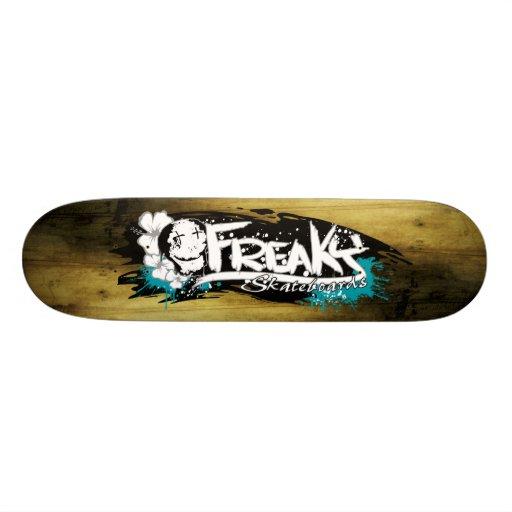 Freaky skateboard - label Deck2
