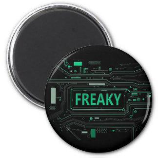 Freaky tech. magnet