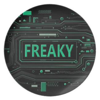 Freaky tech. plate
