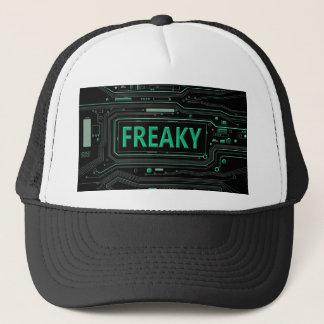 Freaky tech. trucker hat