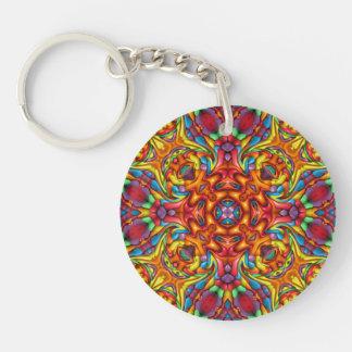 Freaky Tiki Acrylic Keychains, 6 styles Key Ring