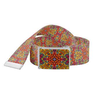 Freaky Tiki Kaleidoscope    Custom Belts Belt
