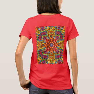 Freaky Tiki Kaleidoscope  Shirts, Two Side Print T-Shirt
