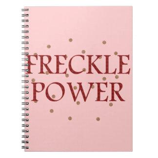 Freckle Power Notebook