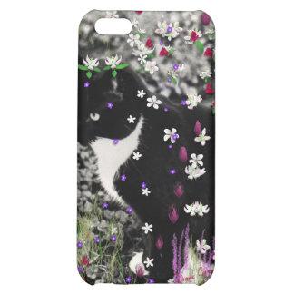 Freckles in Flowers I - Tux Cat iPhone 5C Cases