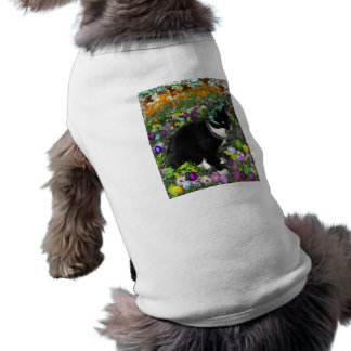 Freckles in the Hunt for Colored Easter Eggs Dog Tshirt