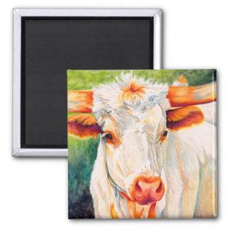 Freckles - Longhorn Heifer Cow Magnet