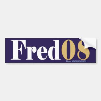 Fred08 Bumper Sticker