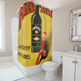 fred 1 shower curtain