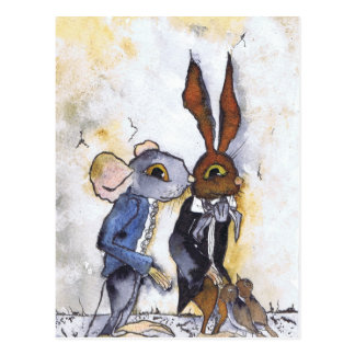 FRED AND GEORGE GET LOST POSTCARD