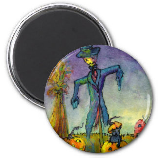 Fred A'scare 6 Cm Round Magnet