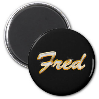 Fred Bling Magnet
