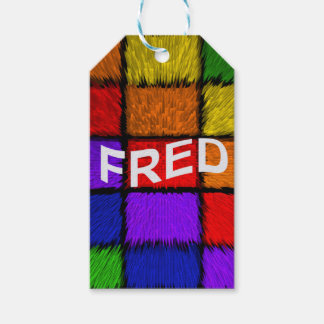 FRED GIFT TAGS