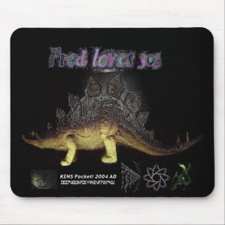 fred loves 303 mouse mat