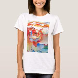 Fred martin begonia watercolour art T-Shirt