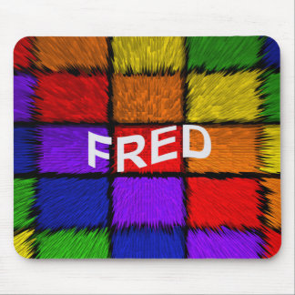 FRED MOUSE PAD