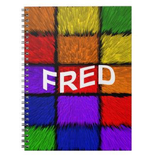 FRED NOTEBOOK