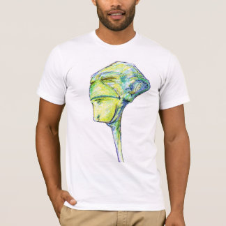 Fred the Alien Extraterrestrial Comic Character T-Shirt