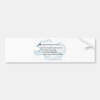 Fred The Amoeba - A SmartTeePants Science Poem Bumper Sticker
