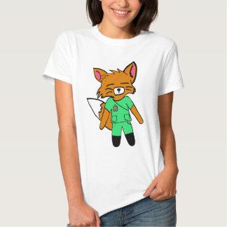 Fred the Fox- Nurse Shirts