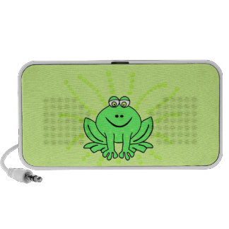 Freddie Frog Notebook Speakers