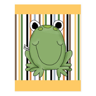 Freddie Frog Tshirts and Gifts Postcard