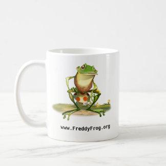 FreddyFrog coffee cup