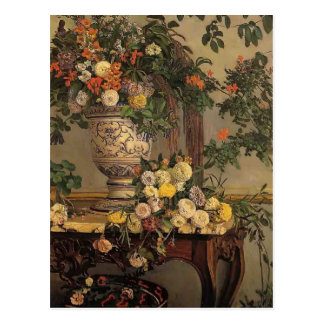 Frederic Bazille- Flowers Postcard