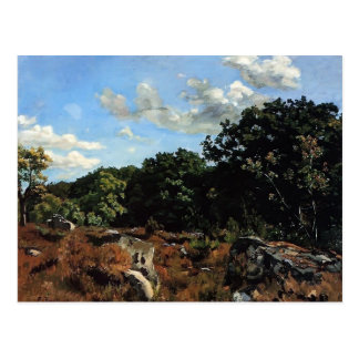 Frederic Bazille- Landscape at Chailly Postcard