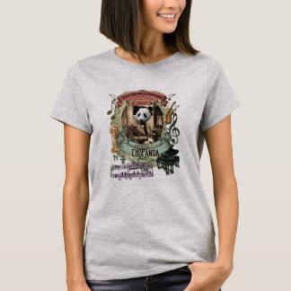 Frederic Chopanda Animal Composer Series Panda T-Shirt