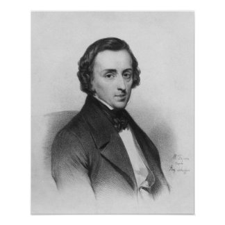 Frederic Chopin, after Ary Scheffer Posters