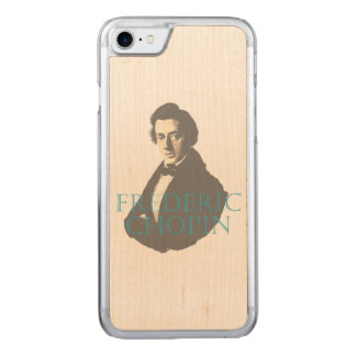 Frédéric Chopin portrait Carved iPhone 7 Case