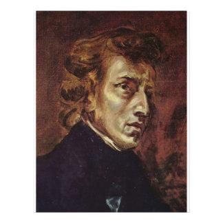 Frédéric Chopin Portrait Personalized Flyer