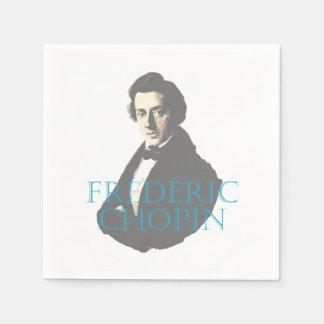 Frédéric Chopin portrait Paper Serviettes