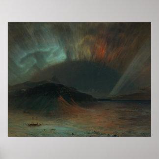 Frederic Edwin Church - Aurora Borealis Poster