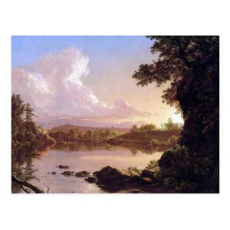 Frederic Edwin Church - Catskill Creek Postcard
