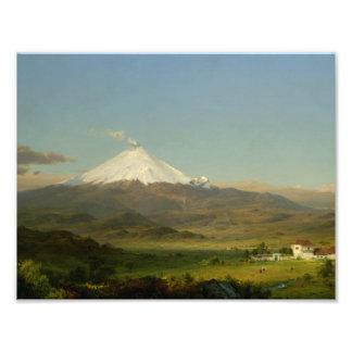 Frederic Edwin Church - Cotopaxi Art Photo