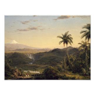 Frederic Edwin Church - Cotopaxi Photographic Print
