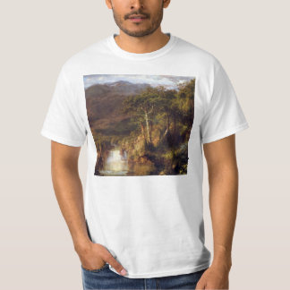 Frederic Edwin Church - Heart of the Andes Detail T-Shirt