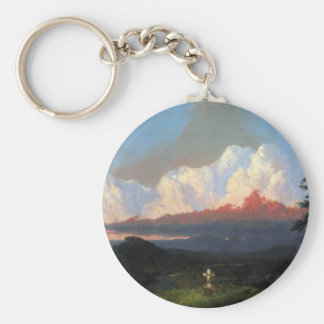 Frederic Edwin Church - In memory of Cole Keychain