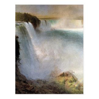 Frederic Edwin Church - Niagara Falls from the Ame Postcard