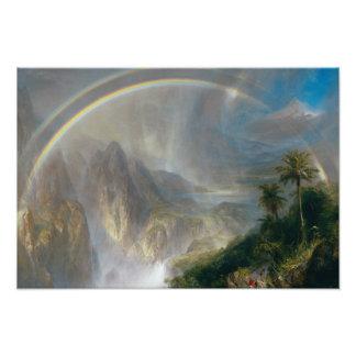 Frederic Edwin Church - Rainy Season in the Tropic Photograph
