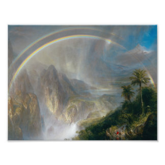 Frederic Edwin Church - Rainy Season in the Tropic Photograph