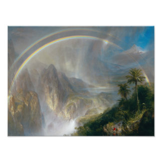 Frederic Edwin Church - Rainy Season in the Tropic Photographic Print